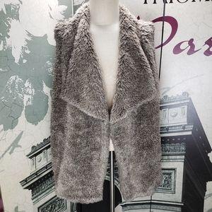 Maurices Faux Fur Sweater Vest Size 3X